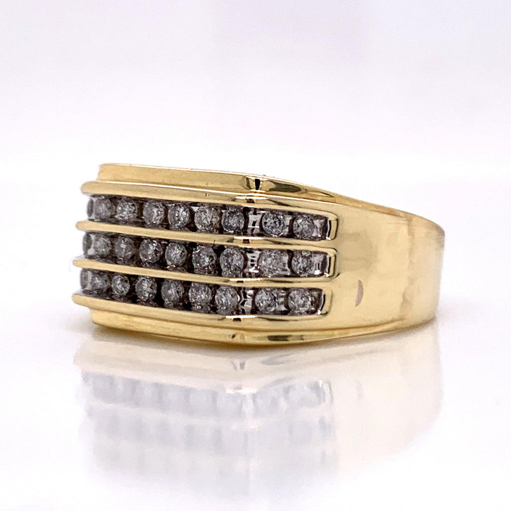 0.50 CT. Diamond Ring in 10K Gold - White Carat Diamonds