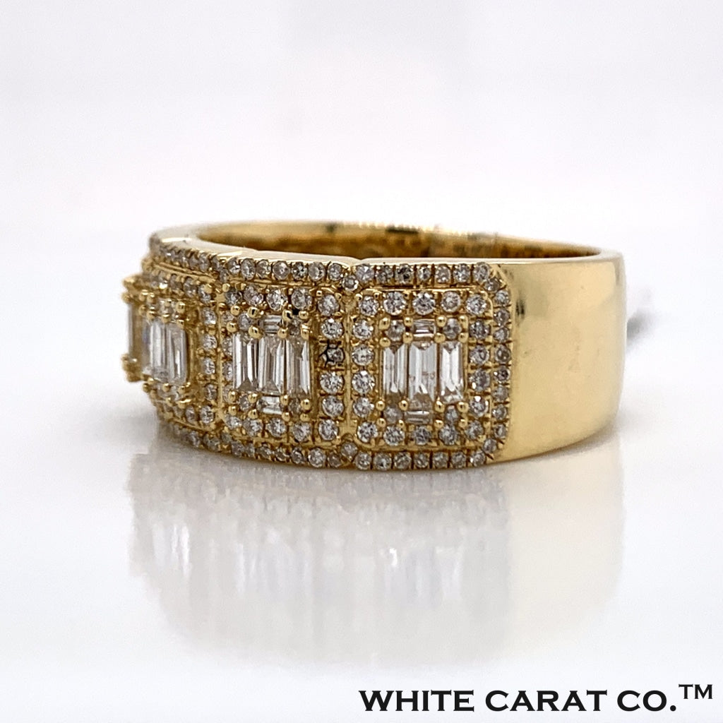 1.01 CT. Diamond Ring in 10K Gold - White Carat Diamonds
