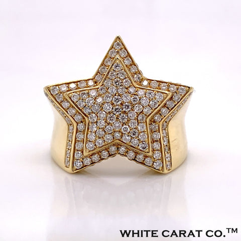 1.79 CT. Diamond Ring in 10K Gold - White Carat Diamonds