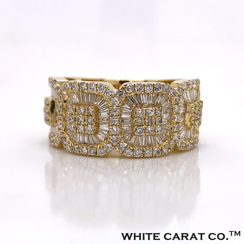 1.96 CT. Diamond Ring in 10K Gold - White Carat Diamonds