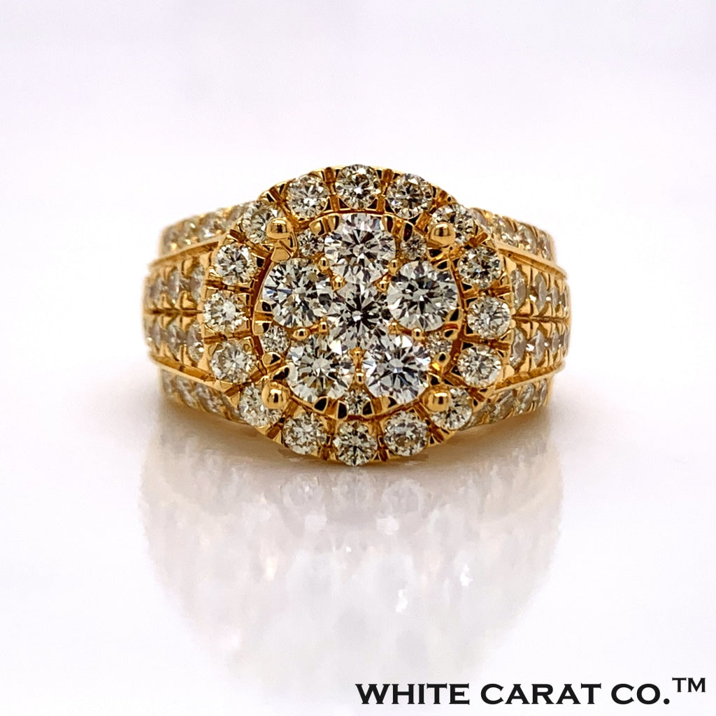 2.78 CT. Diamond Ring in 10K Gold - White Carat Diamonds