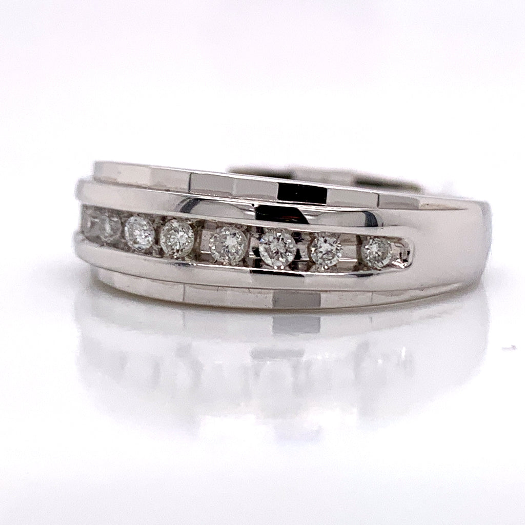 0.26CT Diamond Ring in 14K White Gold - White Carat Diamonds