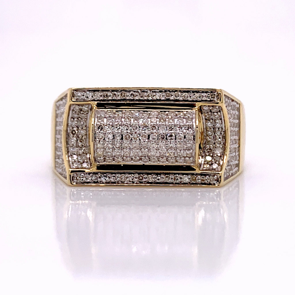 0.62 CT. Diamond Ring in 10K Gold - White Carat Diamonds