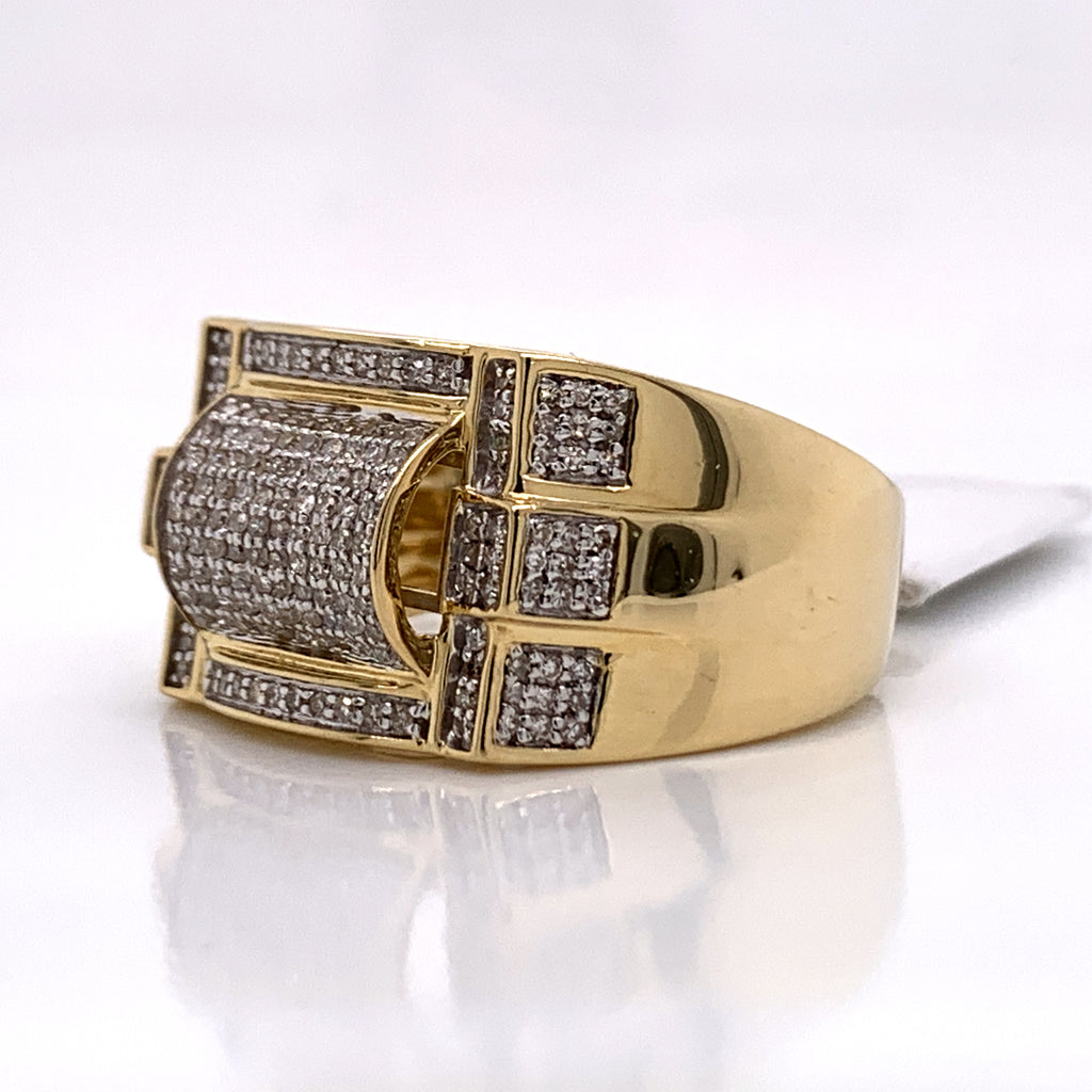 0.56 CT. Diamond Ring in 10K Gold - White Carat Diamonds