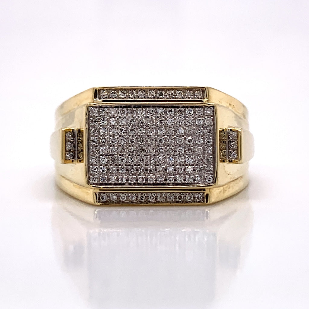 0.23 CT. Diamond Ring in 10K Gold - White Carat Diamonds
