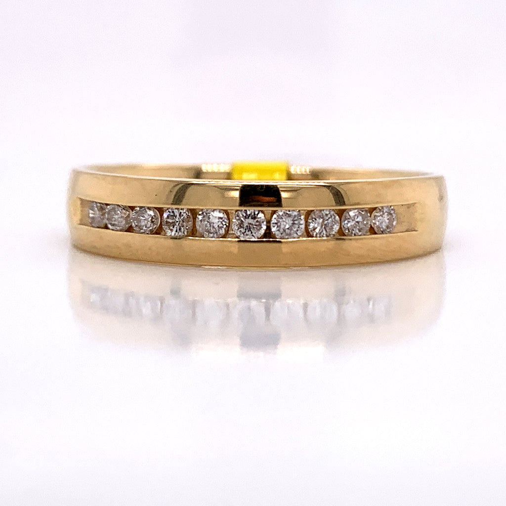 0.26 CT. Diamond Ring in 14K Gold - White Carat Diamonds
