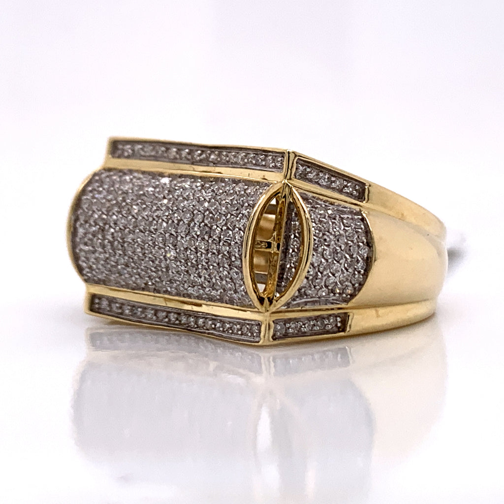 0.78 CT. Diamond Ring in 10K Gold - White Carat Diamonds