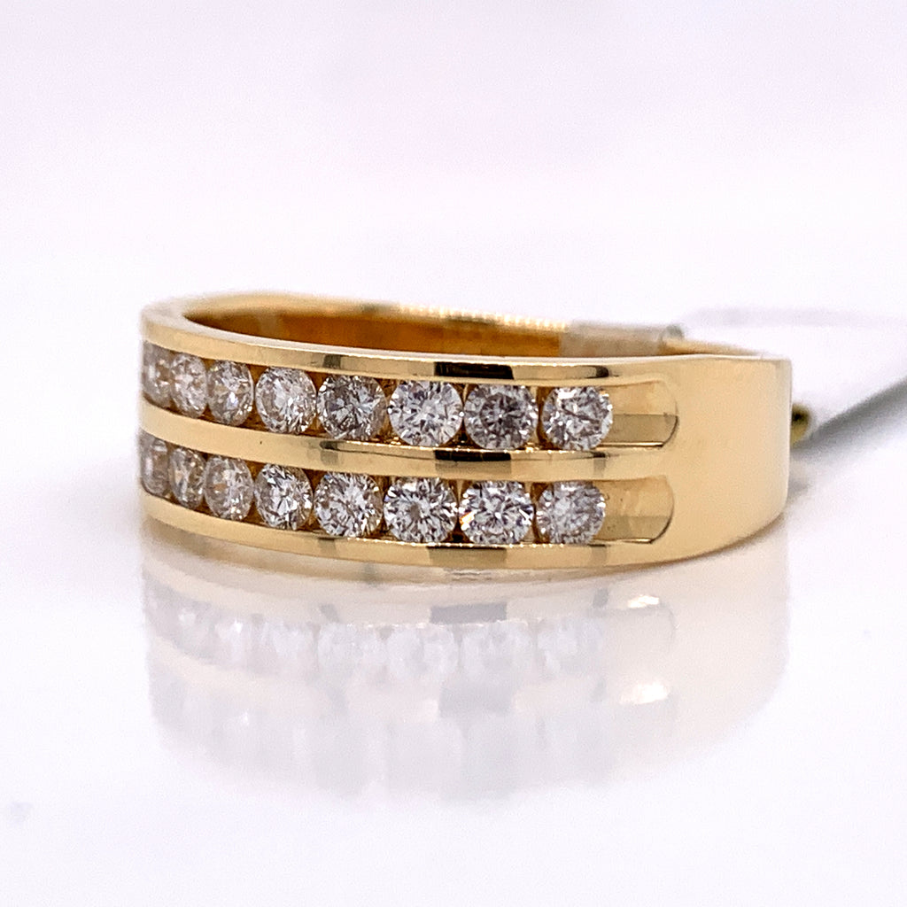 1.02 CT. Diamond Ring in 14K Gold - White Carat Diamonds