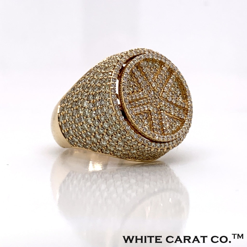 5.25 CT. Diamond Ring in 14K Gold - White Carat Diamonds