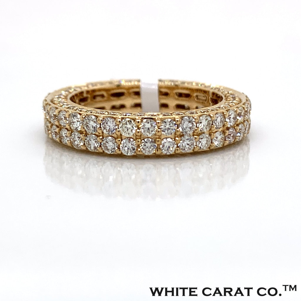 3.85 CT. Diamond Ring in 14K Gold - White Carat Diamonds