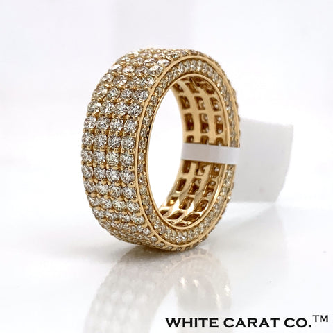 6.25 CT. Diamond Ring in 14K Gold - White Carat Diamonds