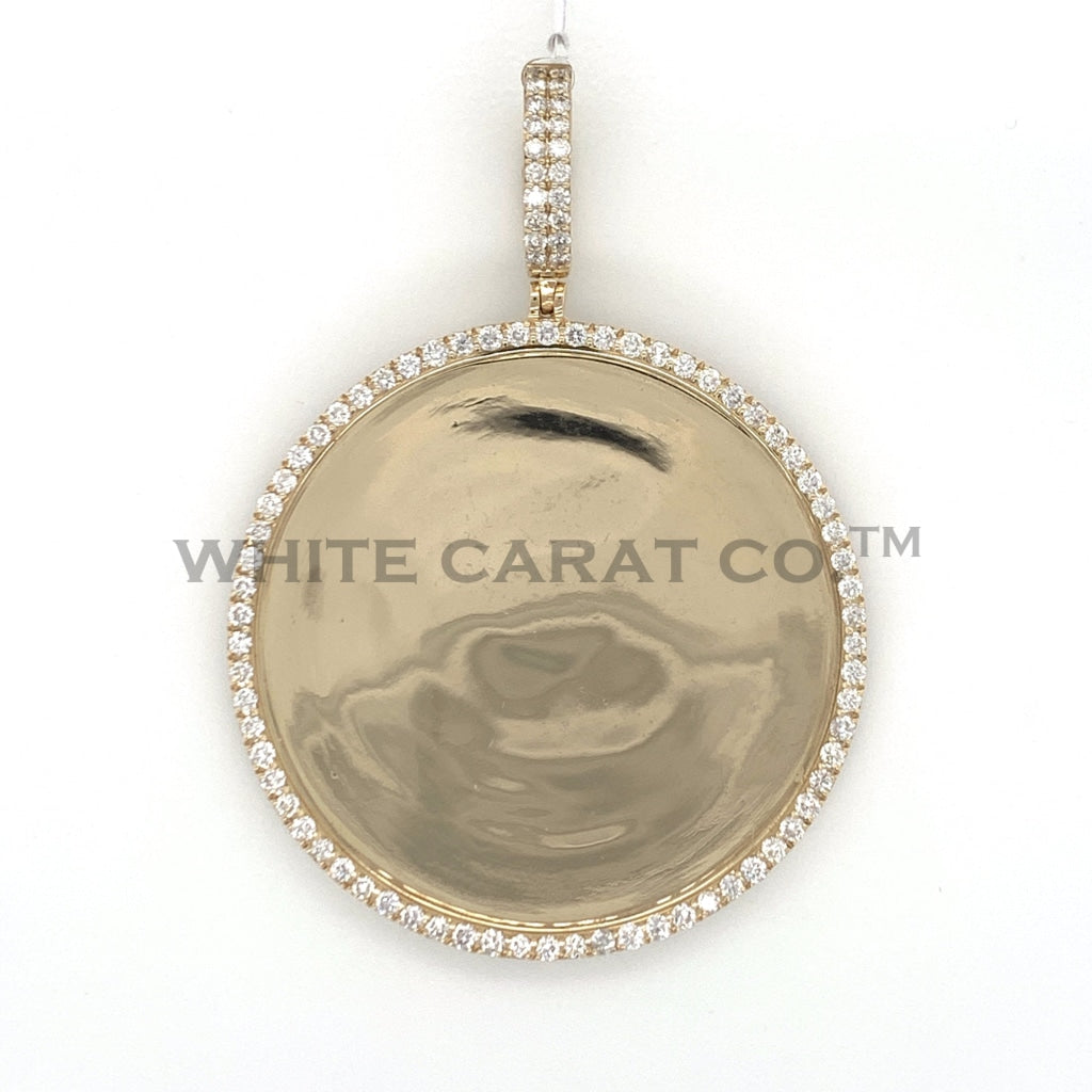 6.00 CT. Diamond Memory Pendant in 14K Gold - White Carat Diamonds