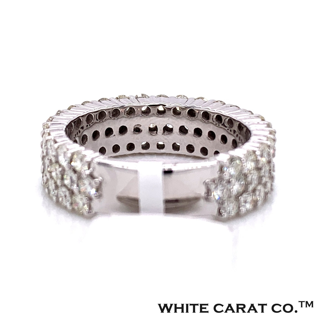 4.50 CT. Diamond Ring in 14K White Gold - White Carat Diamonds