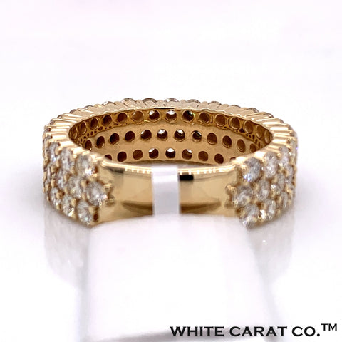 4.50 CT. Diamond Ring in 14K Gold - White Carat Diamonds