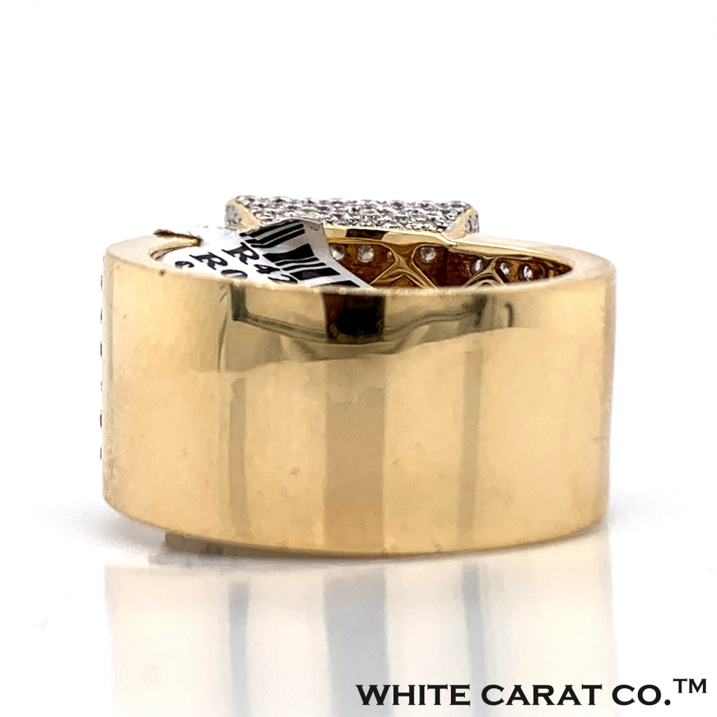 3.81 CT. Diamond Ring in 14K Gold - White Carat Diamonds