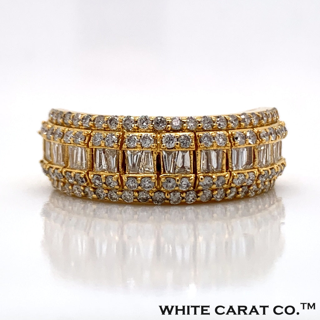 1.36 CT. Diamond Ring in 14K Gold - White Carat Diamonds