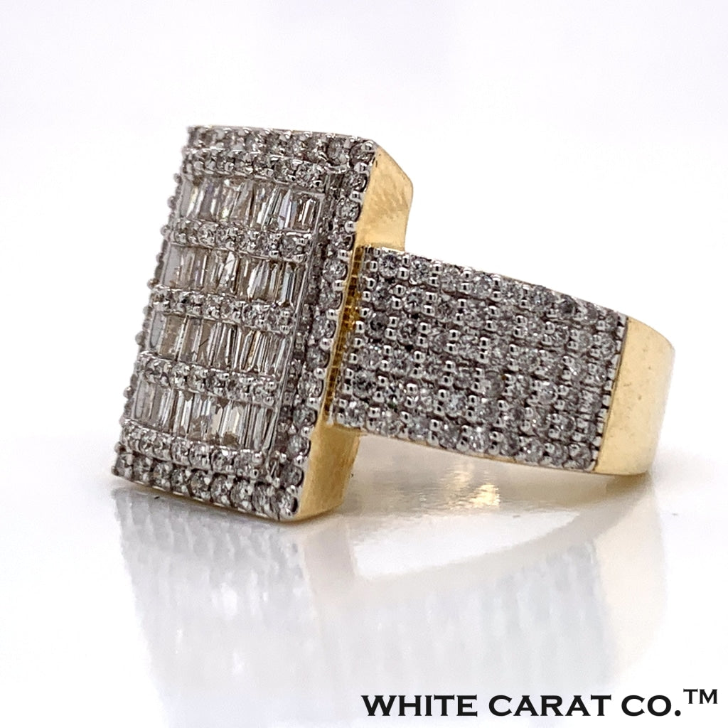 1.55 CT. Diamond Ring in 10K Gold - White Carat Diamonds