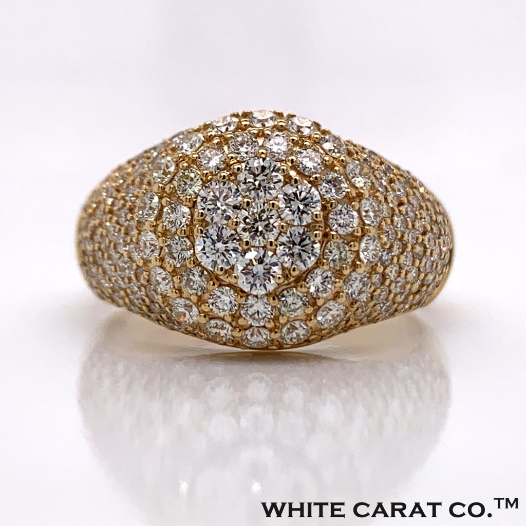 2.60 CT. Diamond Ring in 14K Gold - White Carat Diamonds