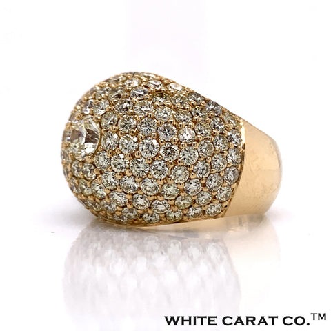 7.00 CT. Diamond Ring in 14K Gold - White Carat Diamonds