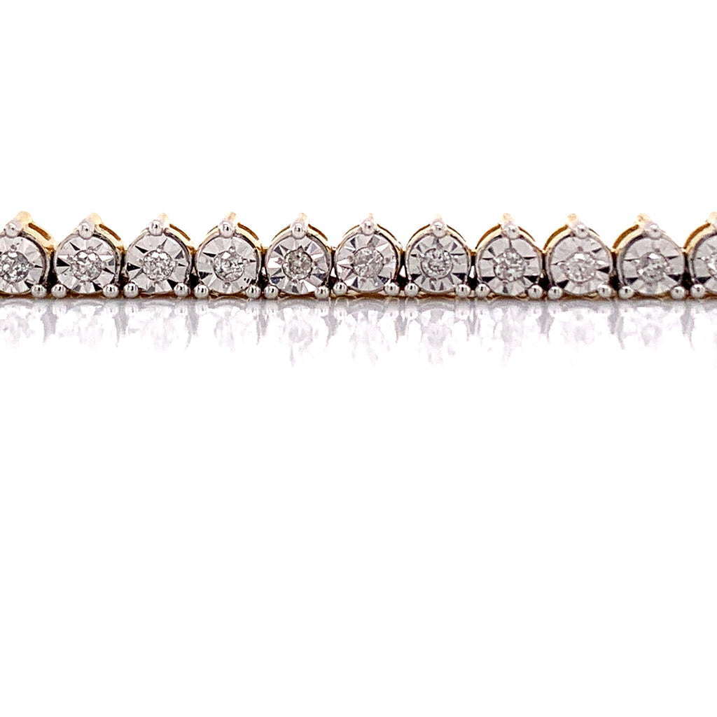1.63 CT. Tennis Chain in 10KT Gold - White Carat Diamonds