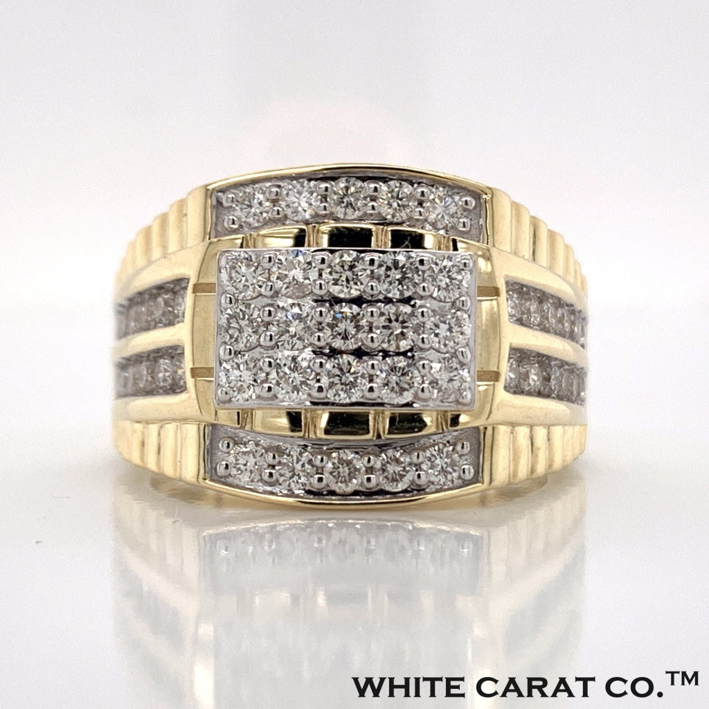 1.45 CT. Diamond Ring in 10K Gold - White Carat Diamonds