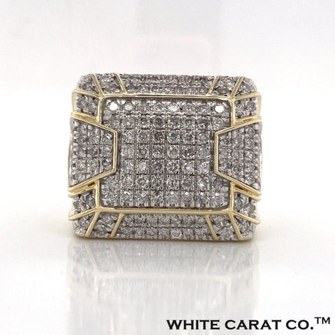 2.88 CT. Diamond Ring in 10K Gold - White Carat Diamonds