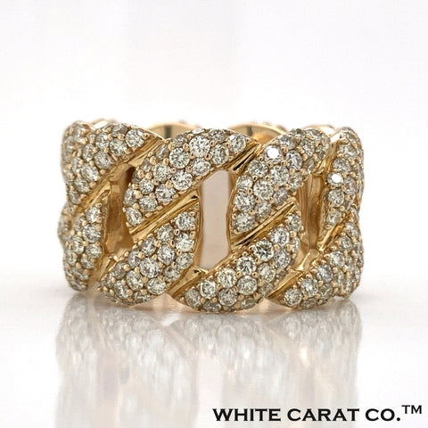 4.90 CT. Diamond Ring in 10K Gold - White Carat Diamonds