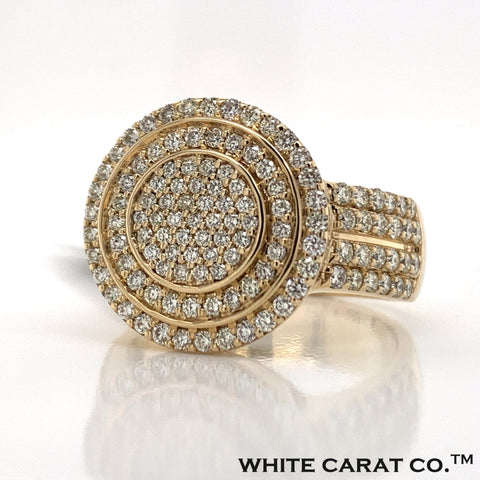 2.00 CT. Diamond Ring in 10K Gold - White Carat Diamonds