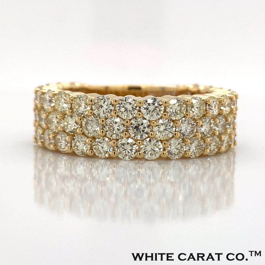 4.73 CT. Diamond Ring in 10K Gold - White Carat Diamonds