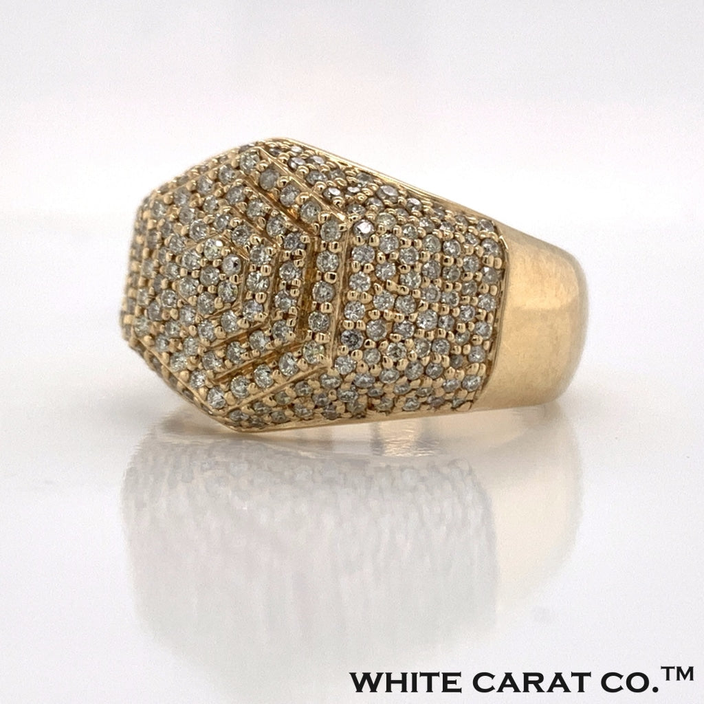 1.35 CT. Diamond Ring in 10K Gold - White Carat Diamonds