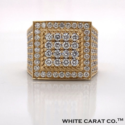 4.25 CT. Diamond Ring in 14K Gold - White Carat Diamonds