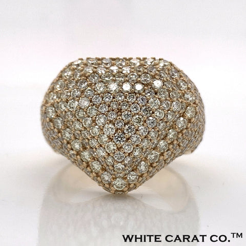 5.50 CT. Diamond Ring in 10K Gold - White Carat Diamonds