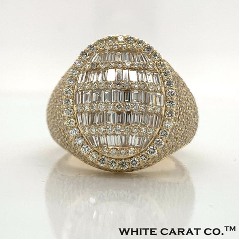 4.50 CT. Diamond Ring in 10K Gold - White Carat Diamonds
