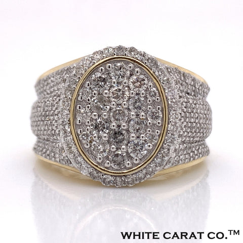 2.33 CT. Diamond Ring in 10K Gold - White Carat Diamonds