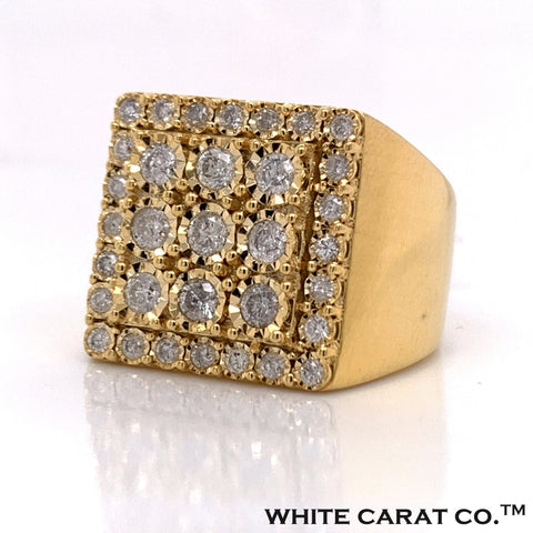 1.39 CT. Diamond Ring in 10K Gold - White Carat Diamonds