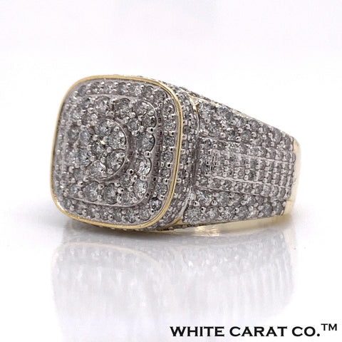 2.48 CT. Diamond Ring in 10K Gold - White Carat Diamonds