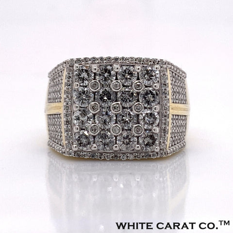 2.56 CT. Diamond Ring in 10K Gold - White Carat Diamonds