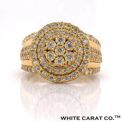 1.14 CT. Diamond Ring in 10K Gold - White Carat Diamonds