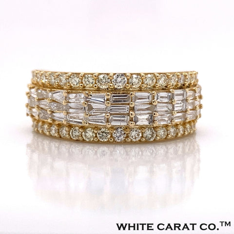 1.92 CT. Diamond Ring in 10K Gold - White Carat Diamonds