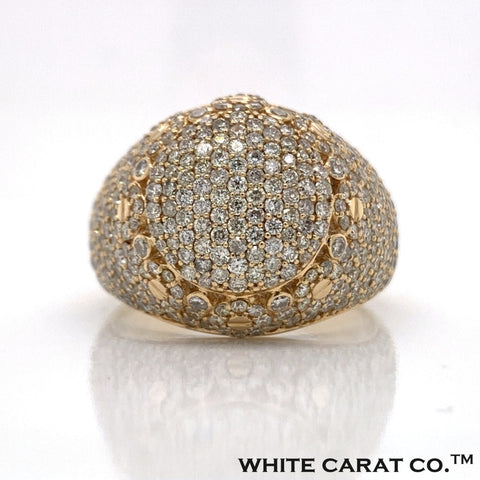 3.25 CT. Diamond Ring in 14K Gold - White Carat Diamonds