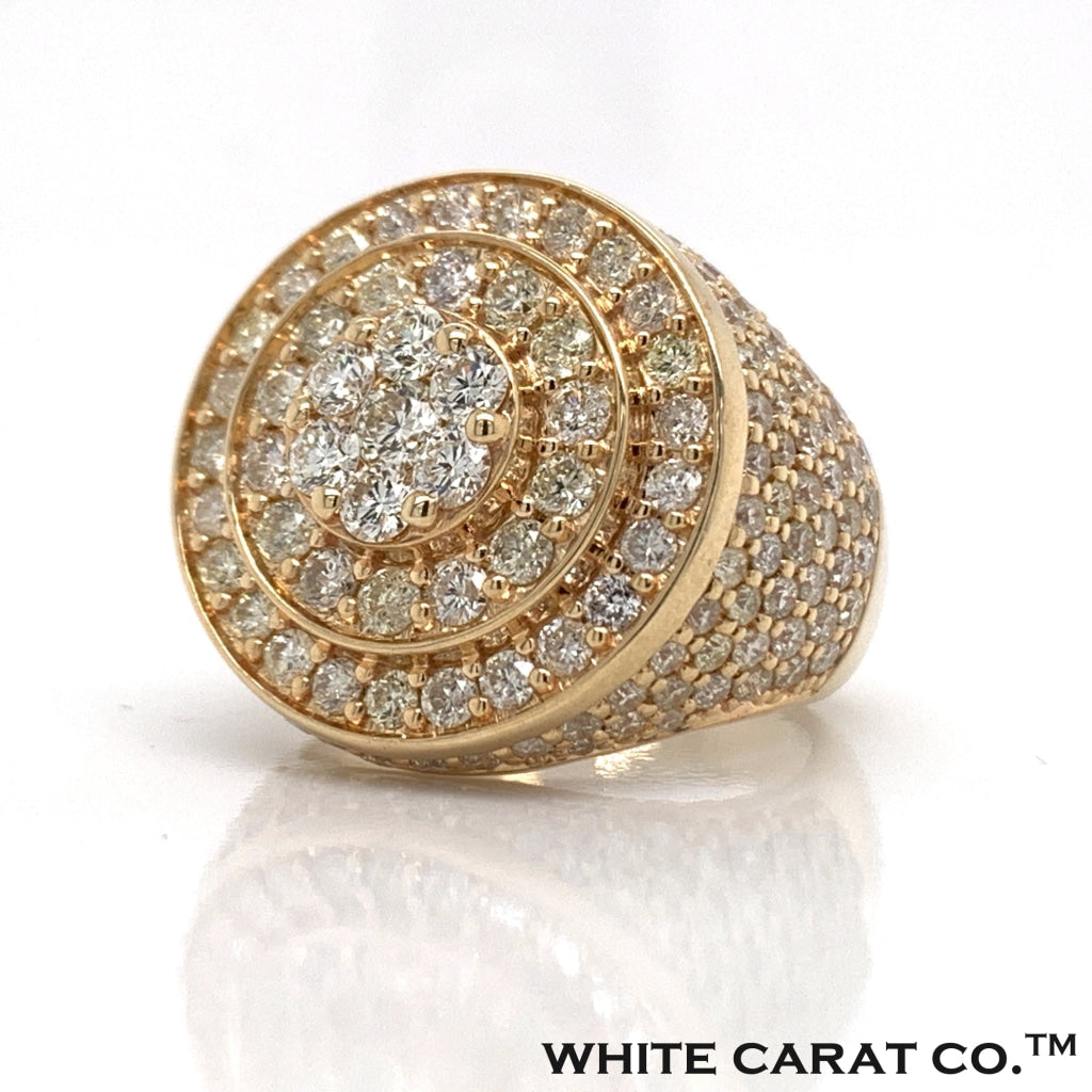 4.00 CT. Diamond Ring in 14K Gold - White Carat Diamonds