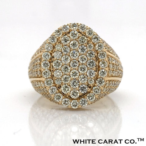 3.75 CT. Diamond Ring in 14K Gold - White Carat Diamonds