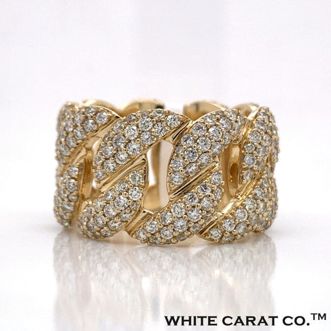 4.00 CT. Diamond 14K Gold Ring - White Carat Diamonds