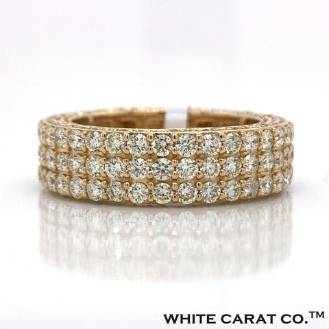 5.00 CT. Diamond 14K Gold Ring - White Carat Diamonds