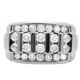 2.0 CT. Channel Set Diamond Wedding Band in 10K White Gold - White Carat Diamonds