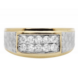 0.50 CT. Diamond Wedding Ring in 10K Yellow Gold - White Carat - USA & Canada