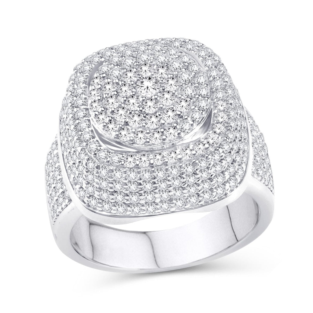 10KT-3.50CTW  MENSRING - White Carat Diamonds