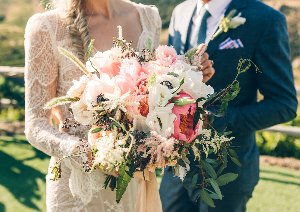 Beautiful Bohemian Wedding at Saddlerock Ranch