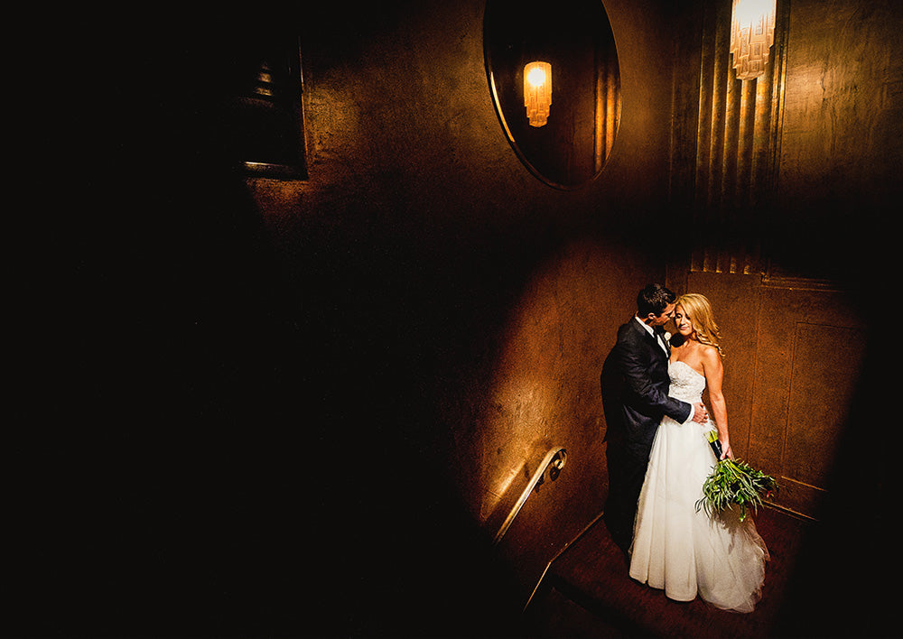 Rich, Dark Art Deco Wedding at Cicada