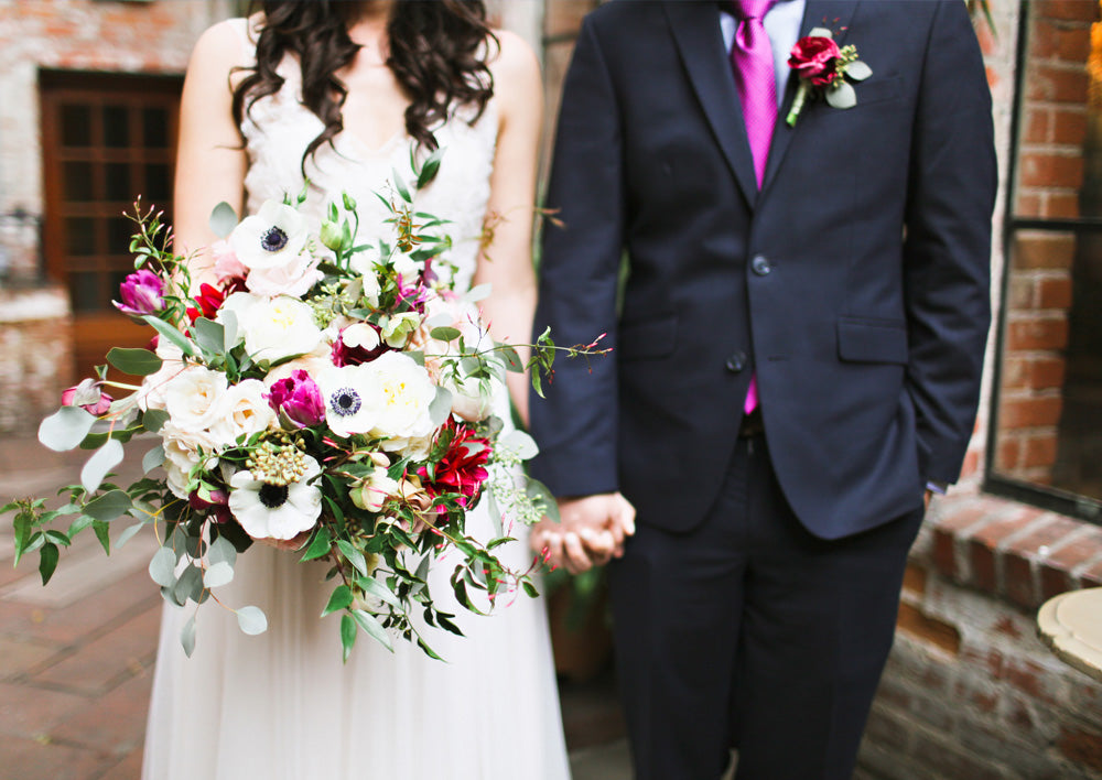 Jewel Toned Wedding at Carondelet House
